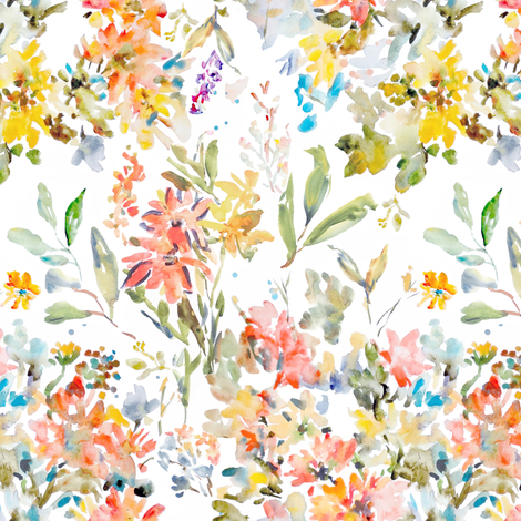 Rustic_Bouquet fabric by susan_magdangal on Spoonflower - custom fabric