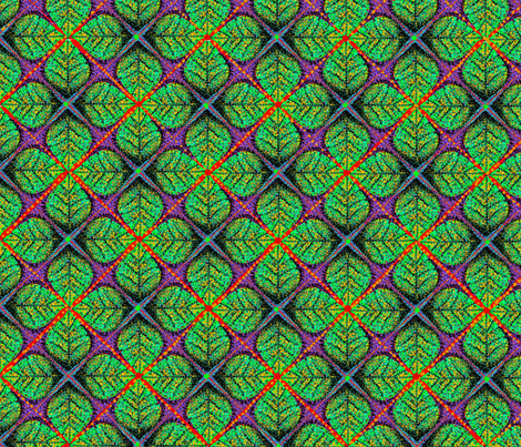 Pointal_Leaves fabric by gcatmash on Spoonflower - custom fabric