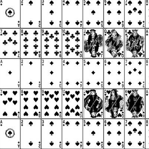 Playing Cards // Black & White