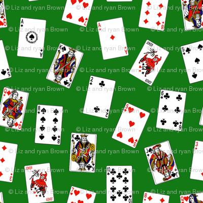 Playing Cards // Green