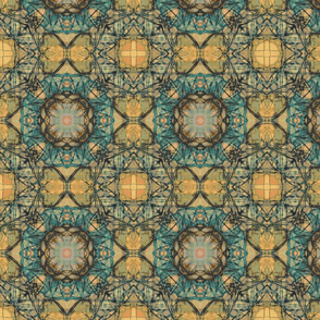 Seedpod_Tile_Blue___Gold_