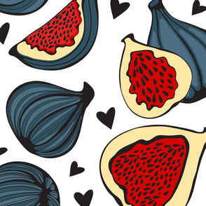 Figs and hearts