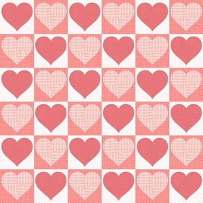 Pink and white Valentines