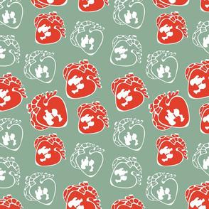 Heart pattern 02