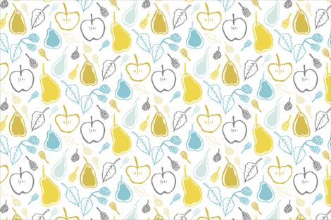 AutumnFruit fabric by emjwalker on Spoonflower - custom fabric