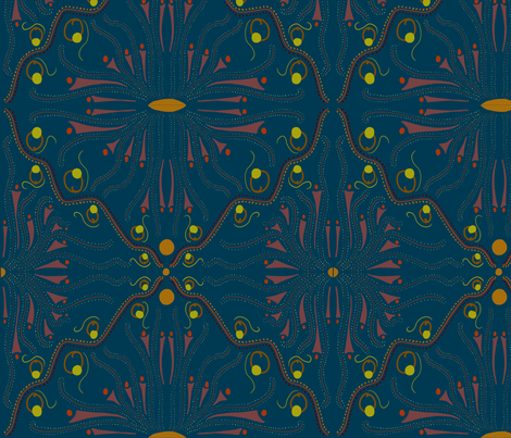 Energy fabric by cathiedesigns on Spoonflower - custom fabric