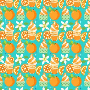 Citrus Ice Cream - Teal