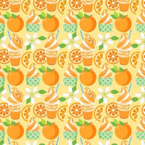 Citrus Ice Cream - Orange
