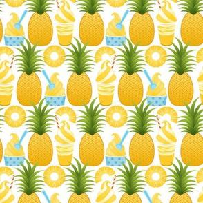 Pineapple Ice Cream - White