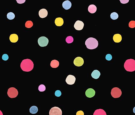 rainbowpolka fabric by lucykatedesign on Spoonflower - custom fabric