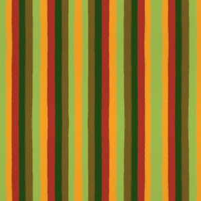Bold Autumn Stripes