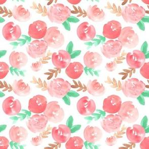 Sweet Pink Florals