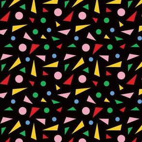 80's Midcentury Modern Confetti