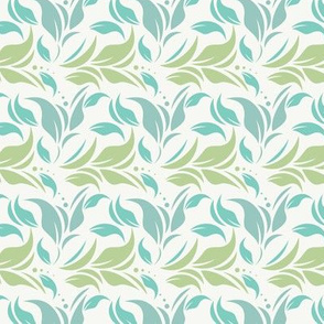 Seamless pattern with classic ornament