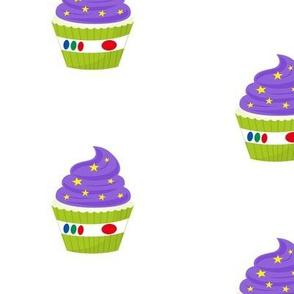 Astronaut Cupcakes - large