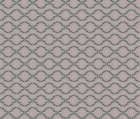 dots in green and rose fabric by sewingfever on Spoonflower - custom fabric