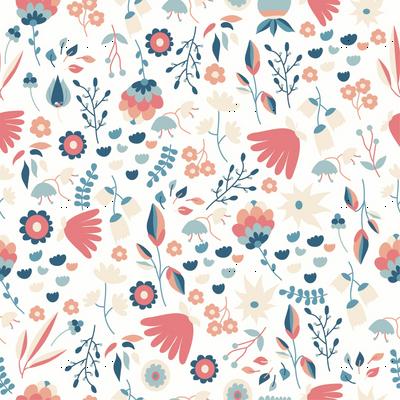 Pastel Flowers Pattern