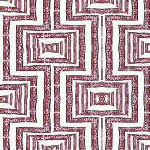 Burgundy Maze