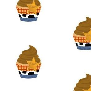 Sheriff Cupcakes - large