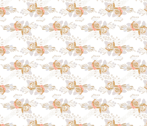 Romantic Roses Pattern fabric by webvilla on Spoonflower - custom fabric