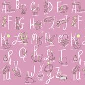 Circus Alphabet (pink)