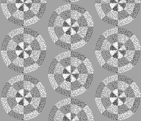 Three ring dots by Su_G fabric by su_g on Spoonflower - custom fabric