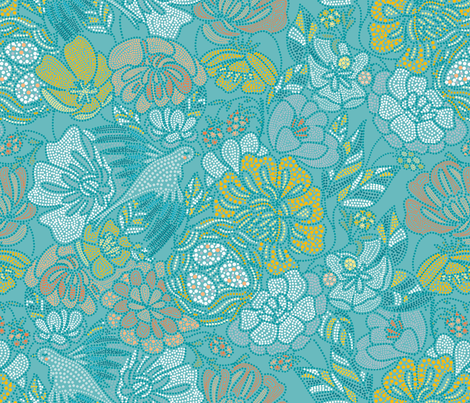 Nest fabric by elena_naylor on Spoonflower - custom fabric