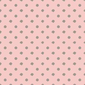 Miss Muffet Dots Pink