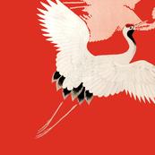 Heron & Floral