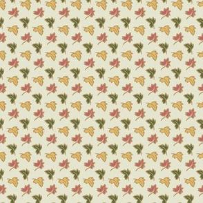 DAMASK - little leaves