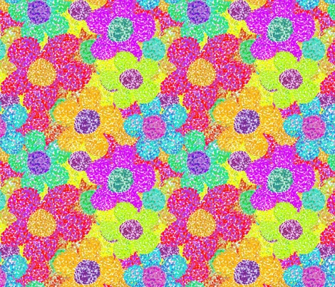 Rpointillism_flowers1_contest154875preview