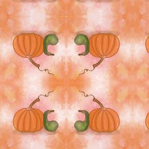 Watercolor Autumn Harvest