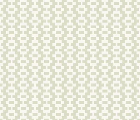 Aztec Ladder - Pear fabric by fernlesliestudio on Spoonflower - custom fabric