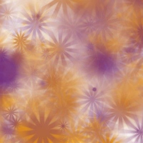 orchid and amber stars