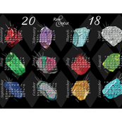 2018 Raw and Uncut - Birthstone Months