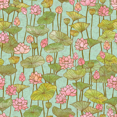 Lotus Flowers Wallpaper