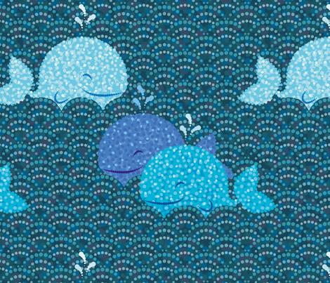 Sea Dots fabric by elodie-lauret on Spoonflower - custom fabric