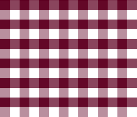 Mulberry_Gingham fabric by jaccii on Spoonflower - custom fabric