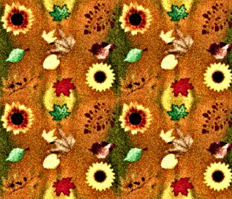 Subtle Fall  fabric by charldia on Spoonflower - custom fabric