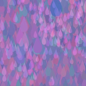 Pointillistic Raindrops