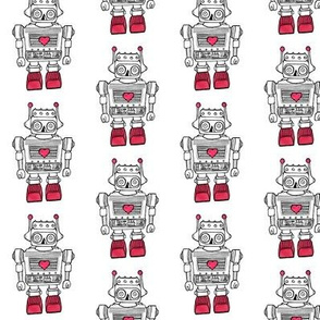 Red Heart Robot -1