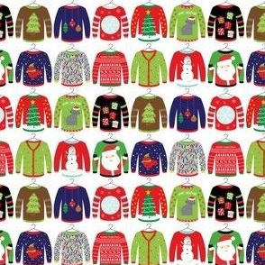 "1"" Ugly Christmas Sweaters"