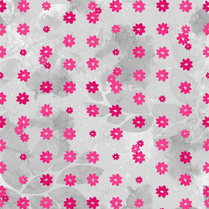 Pink_flower_garden_Grey_Mist