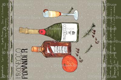 Prosecco Pomander - Recipe