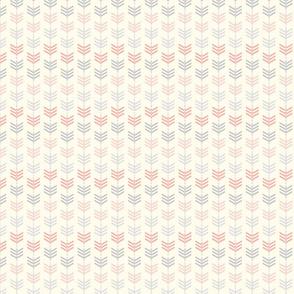 arrows pink/grey/cream