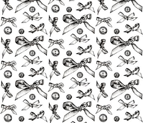 bows_art fabric by katebartholomew on Spoonflower - custom fabric