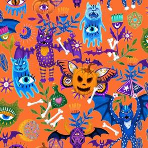 Mystic Halloween Orange