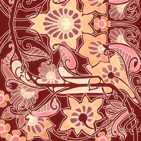 Bolder and Golder fabric by edsel2084 on Spoonflower - custom fabric