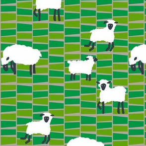farm sheep_mid century