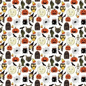 "2"" Vintage Halloween"